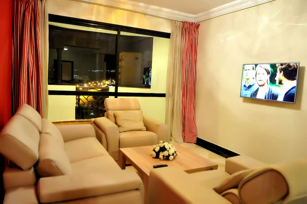 דירה, 3 חדרי שינה, נוף לים - סלון