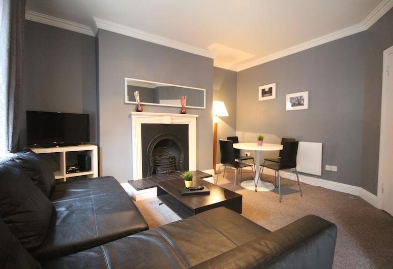 Handel's Apartments of Temple Bar, Δουβλίνο, Διαμέρισμα (2 Adults), Περιοχή καθιστικού