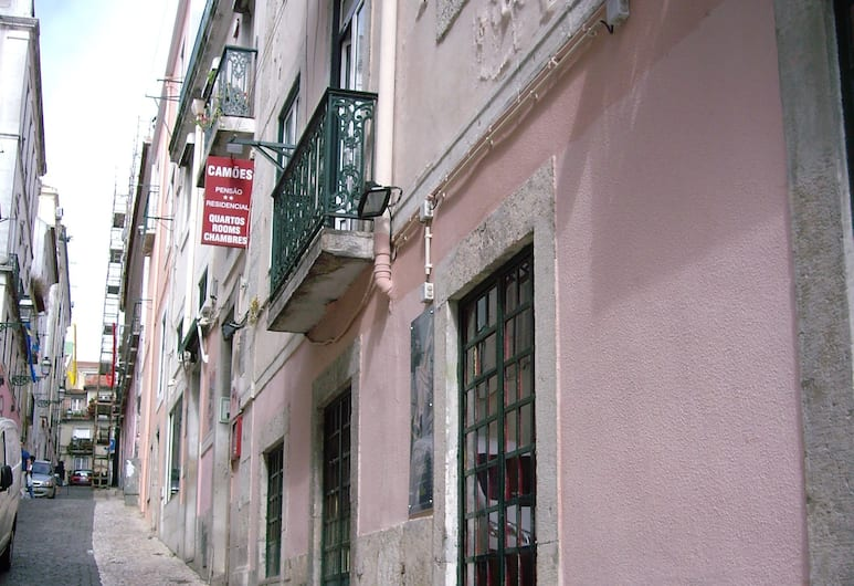 Pensao Residencial Camoes, Lisbon, Hotel Front