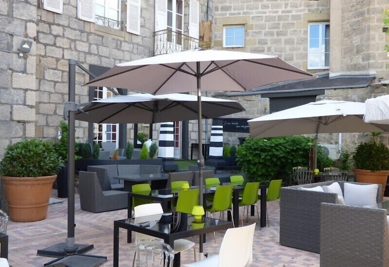 Grand Hôtel Brive, Brive-la-Gaillarde, Terasa / vidinis kiemas