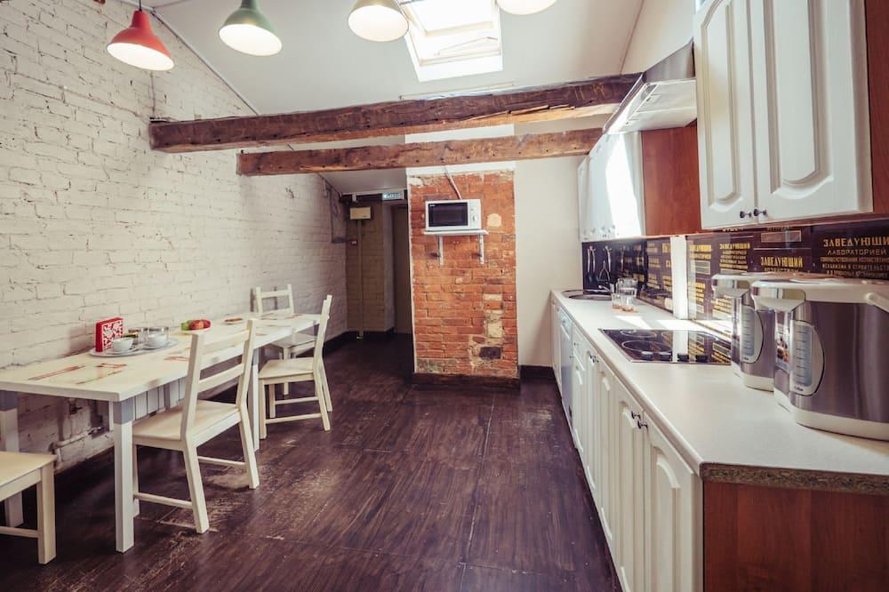 Tweepersoonskamer - Gemeenschappelijke keuken