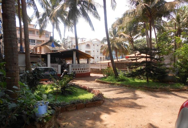 Albenjoh Guesthouse, Calangute, Hotelgelände