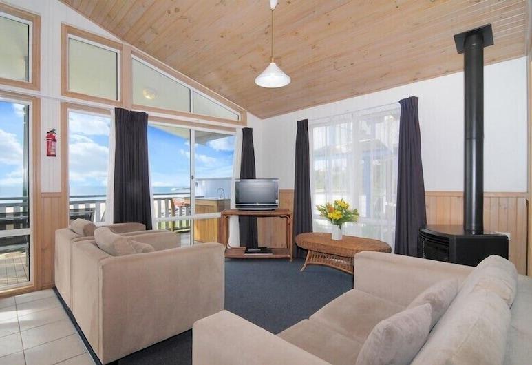 肯達勒斯海灘假日公園飯店, 基亞馬, 標準小屋, 海灘景觀, 客廳