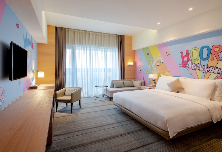 HOTEL COZZI Ximen Tainan, טאינאן, חדר קומפורט זוגי (Cartoon Network), נוף מחדר האורחים