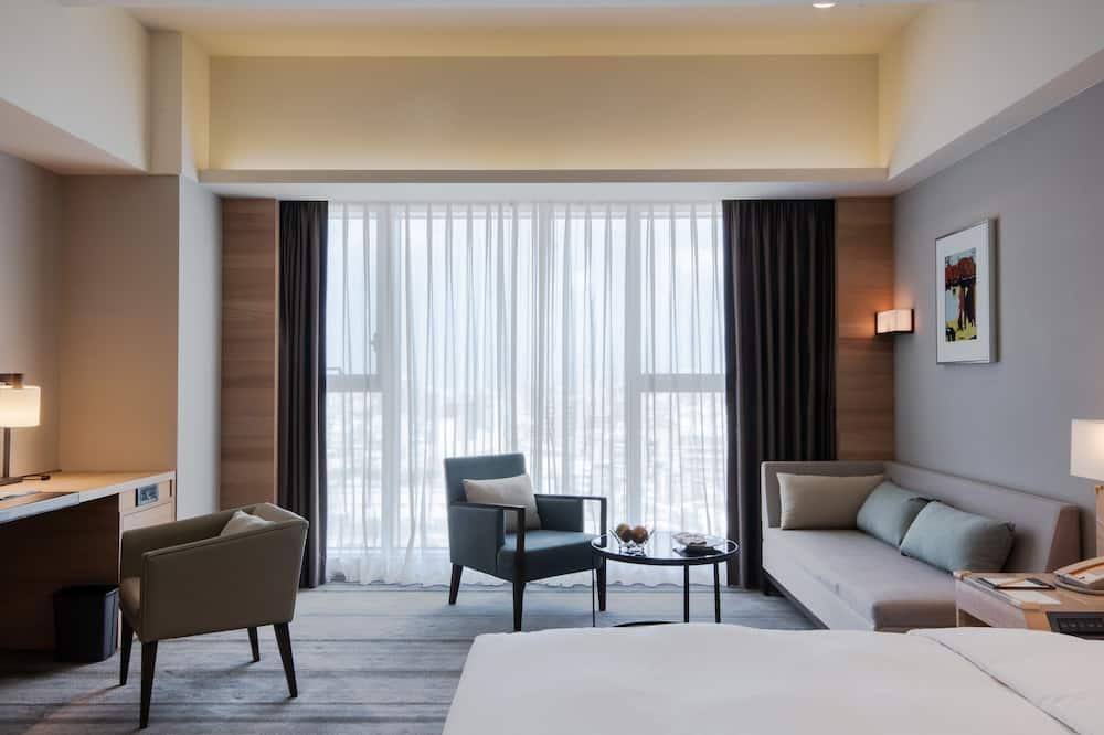 行政舒適客房 (一大床) 貴賓需滿12歲方可使用Cozzi+ Lounge交誼廳 - 客房景觀