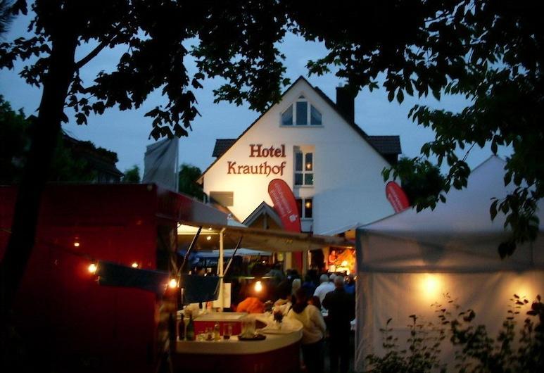 Hotel Krauthof, Ludwigsburg, Pročelje hotela – navečer/po noći