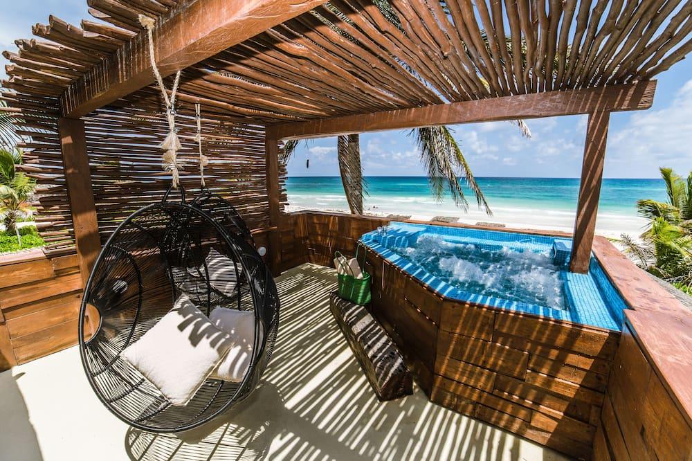 Suite, en front de plage (Horizon Suite) - Chambre