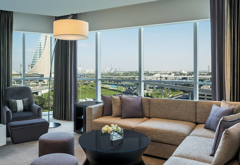 Sheraton Grand Hotel, Dubai, Dubai, Grand Suite, 1 Bedroom, Non Smoking, Guest Room View
