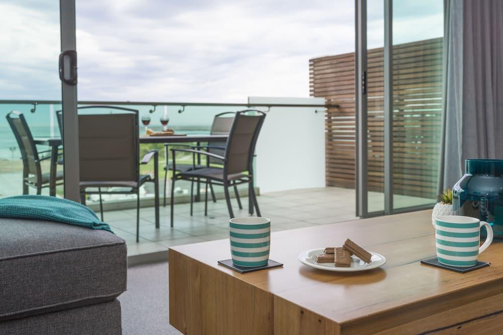 Penthouse, vista al mar - Sala de estar