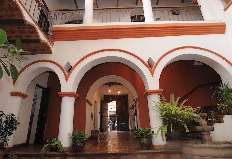 Hostal Recoleta Sur, Sucre, Αυλή