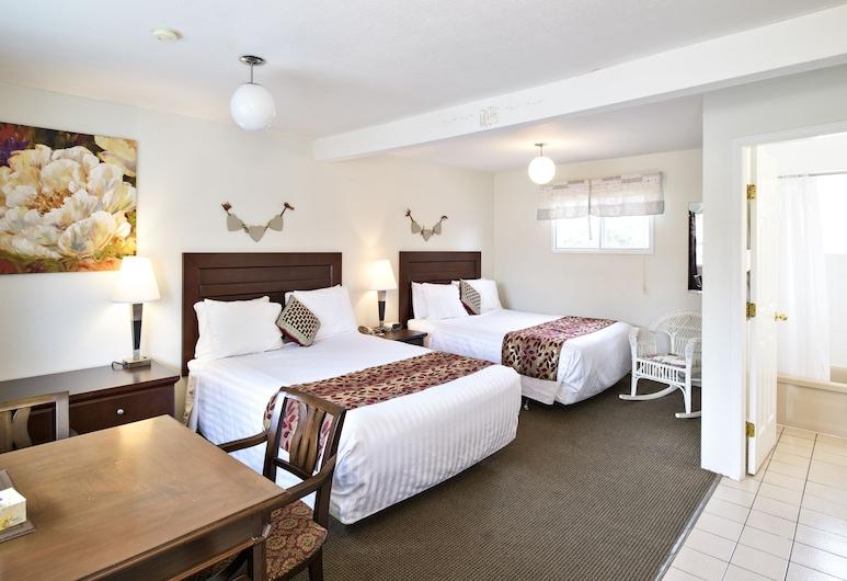 Empire Motel, Penticton, Kamar Standar, 2 Tempat Tidur Queen, Kamar Tamu