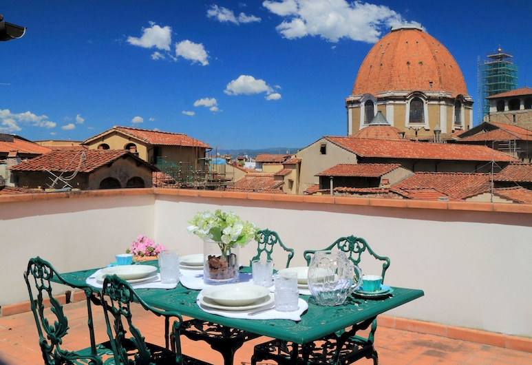 Cerretani 4 Duomo Guesthouse - My Extra Home, Florence, Appartement Duplex, 1 chambre, terrasse, Terrasse/Patio