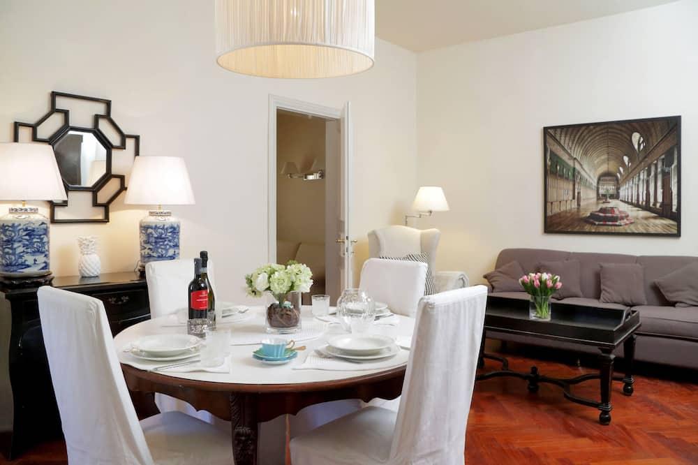 Appartement Duplex, 1 chambre, terrasse - Restauration dans la chambre