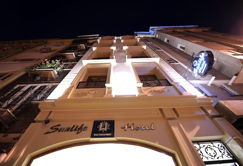 Sunlife Hotel Old City, Istanbul, Mặt tiền khách sạn - Ban đêm