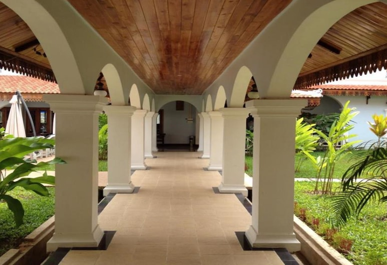 Vansana LuangPrabang Hotel, Λουάνγκ Πραμπάνγκ, Αυλή