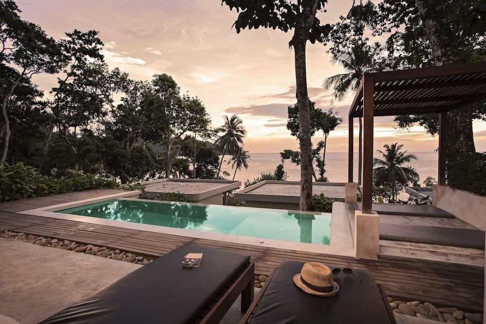 Villa, piscina privada, vista al mar - Piscina al aire libre