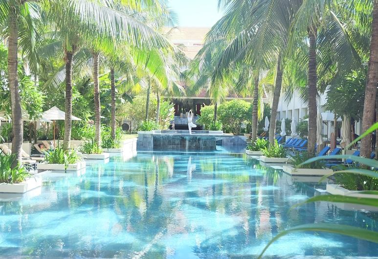 Almanity Hoi An Wellness Resort, Hoi Anas, My Mind Room, 2 Single Beds, Pool View (Free Spa & Wellness Session), Vaizdas iš svečių kambario