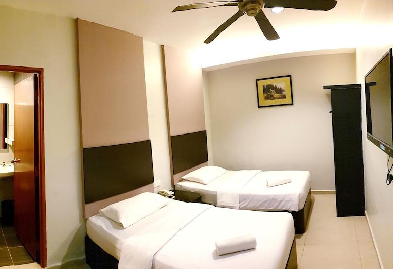 Golden Court Hotel, Džohor Baru, Liukso klasės trivietis kambarys, Svečių kambarys