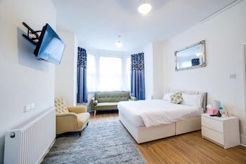 在伦敦的联合山林木屋旅馆照片