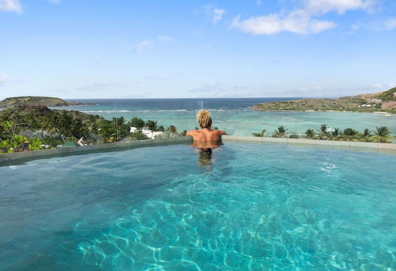 Hotel Villa Lodge 4 épices, St. Barthelemy, Panoramic Suite, 1 Bedroom, Private Pool, Ocean View, Infinity Pool