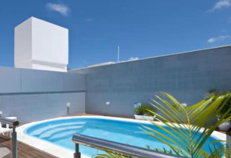 Hotel Água Marinha, Natalas, Lauko baseinas