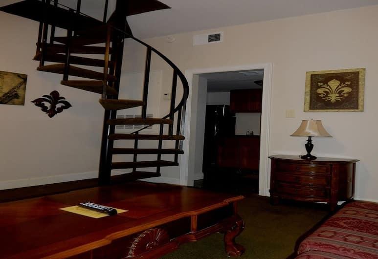 讓拉菲特公寓, 新奥爾良, 樓中樓客房, 1 間臥室, 客廳