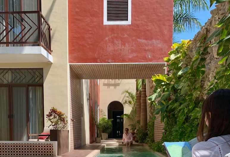 Casa Italia Luxury Guest House - Adults Only, Mérida, Svømmebasseng