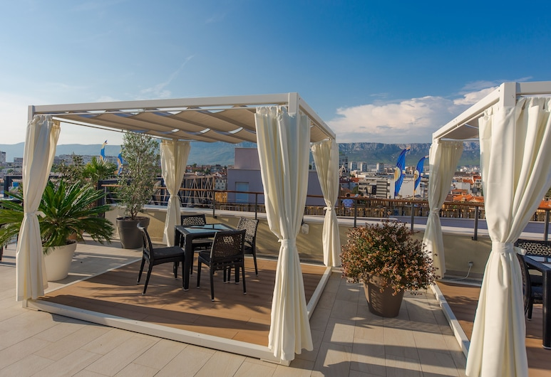 Cornaro Hotel, Split, Terrasse/Patio