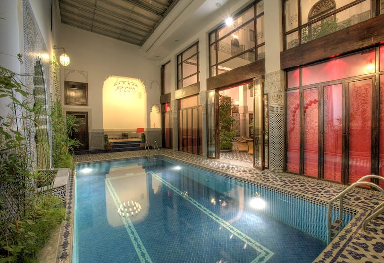 Riad Misbah, Fes, Indoor Pool