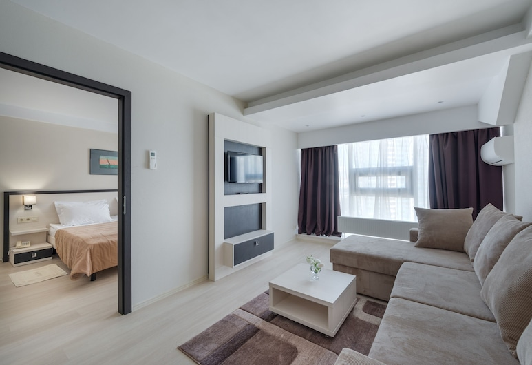 Hotel Gagarinn, Odessa, Suite, Wohnbereich