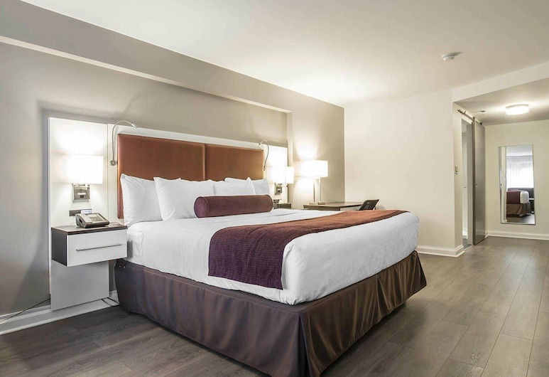 The Saint James Hotel, Ascend Hotel Collection, Toronto, Standard Room, 1 King Bed with Sofabed, Non Smoking, Kamer