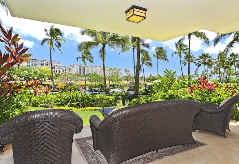 Beach Villas at Ko Olina by Ola Properties, Kapolei, Suite, 3 Bedrooms, Partial Ocean View, Terrace/Patio