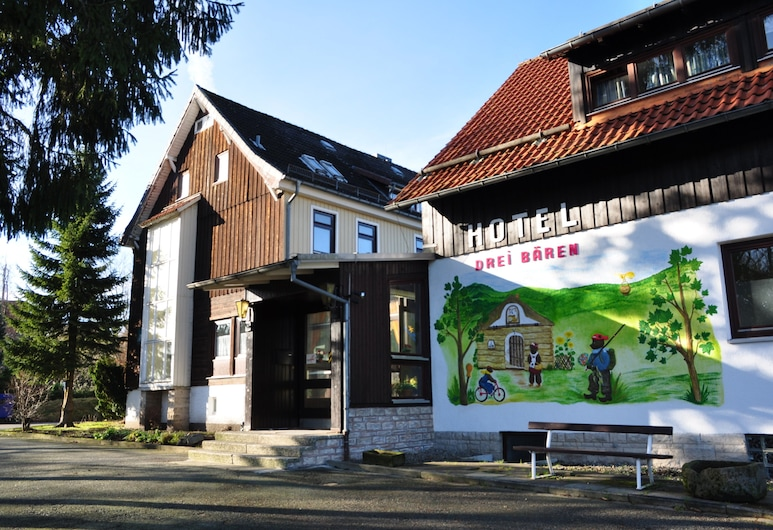 Hotel & Hostel Drei Bären, Klaustāle-Cellerfelde