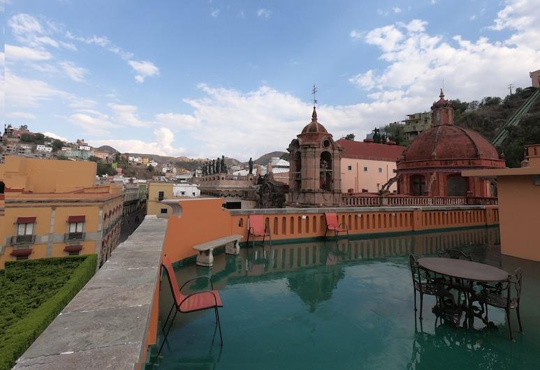 Hotel San Diego, Guanajuato, Penthouse, City View