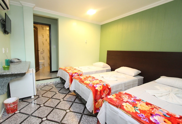 Hotel Lagoa, Manaus, Triple Room, Bilik Tamu