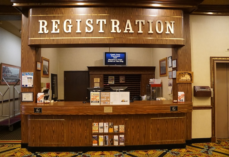 Railroad Pass Hotel & Casino, Henderson, Réception