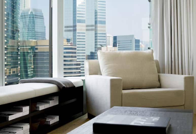 The Jervois, Hongkong, Suite, 2 soverom, Stue