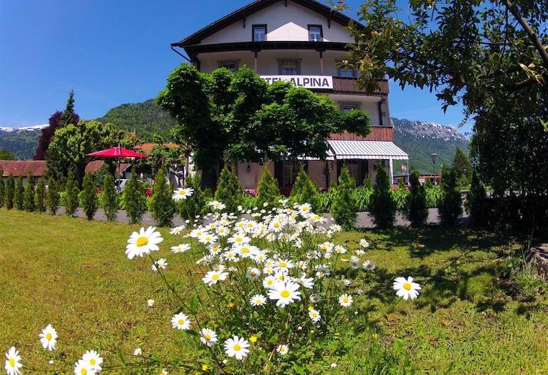 BasicRooms Hotel, Matten bei Interlaken, Garten