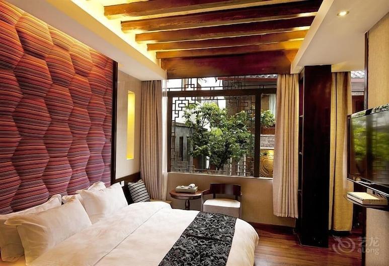 Lijiang Emerald Boutique Hotel, Lijiang, Svečių kambarys