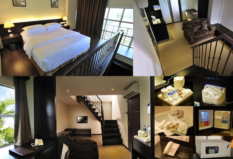 E-RED Hotel Seberang Jaya, Seberang Jaya, Kambarys šeimai, Svečių kambarys