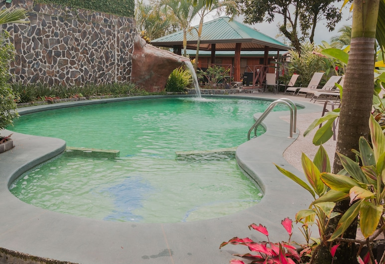 Hotel Bijagua, La Fortuna, Lauko baseinas