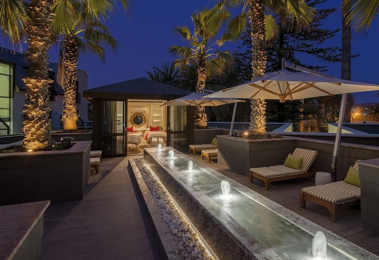 Strand Hotel Swakopmund, Swakopmund, Terrasse/Patio