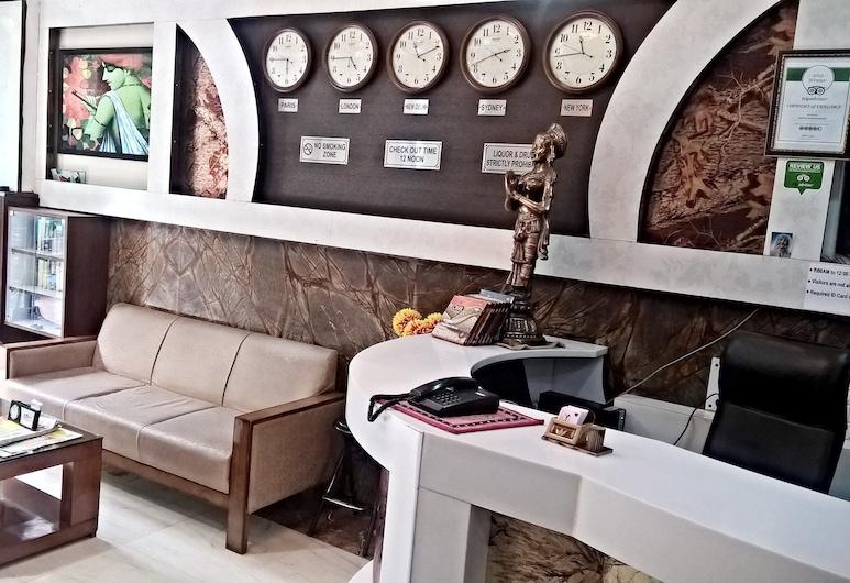 Hotel Su Shree Continental, Niu Delis, Registratūra