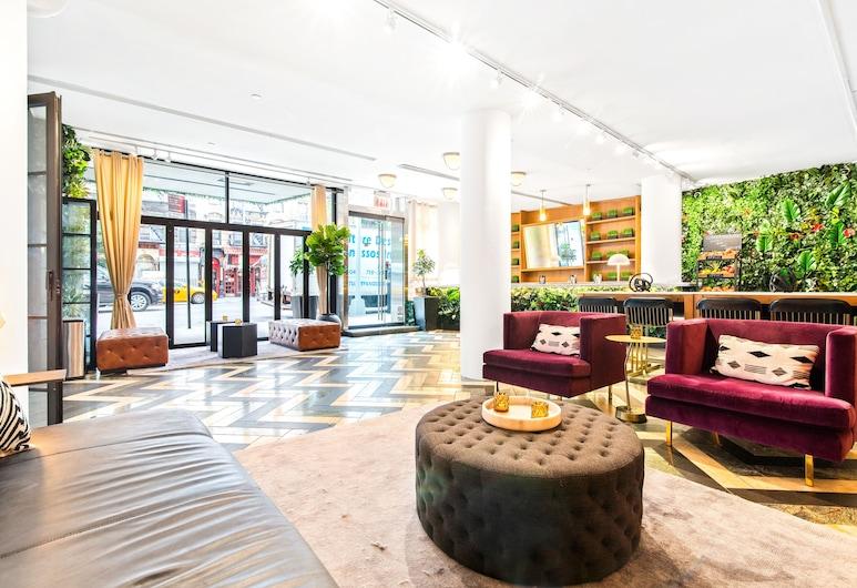 Cassa Times Square Hotel, New York, Lobby Sitting Area