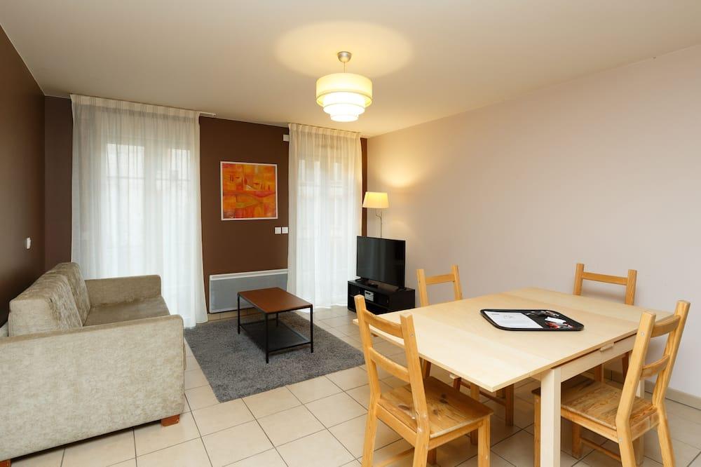 דירה, חדר שינה אחד - אזור מגורים