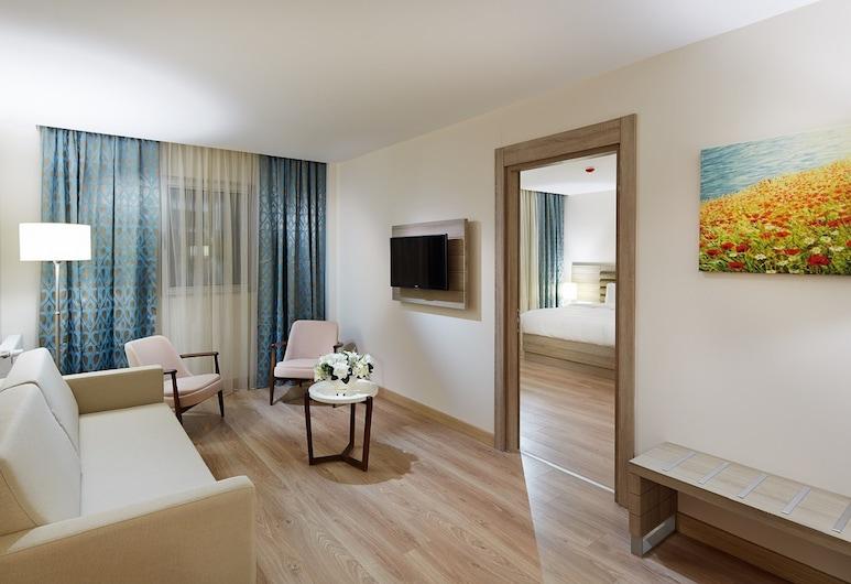 Rox Hotel, Κωνσταντινούπολη, Deluxe Σουίτα, Δωμάτιο επισκεπτών