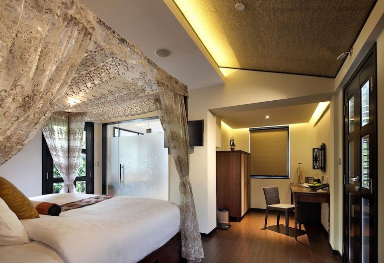 Hotel Clover 33 Jalan Sultan (SG Clean), Singapura, Garden King Suite, Kamar Tamu