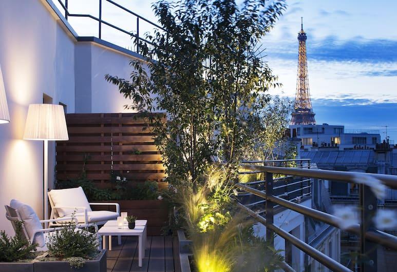 三科考德旅館, 巴黎, 露台