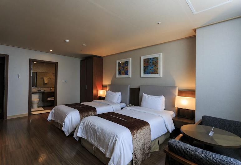 Hyunjin Tourist Hotel, Donghae, Habitación estándar con 2 camas individuales, Habitación