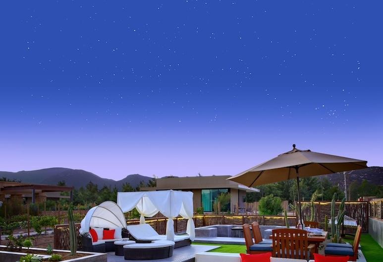 Hotel Boutique Valle de Guadalupe, Valje de Gvadalupė, Prezidentinės klasės numeris, 2 miegamieji, Terasa / vidinis kiemas
